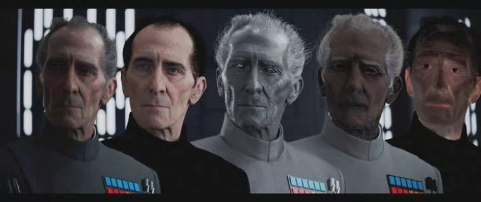 cg train process for rogue one