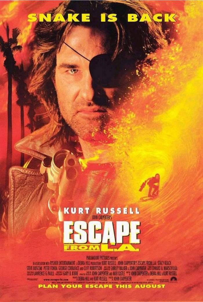 Escape from LA poster