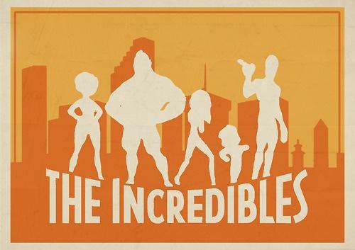 The Incredibles art by Roars Adams