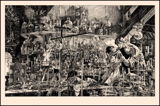 Bernie Wrightson's Frankenstein-