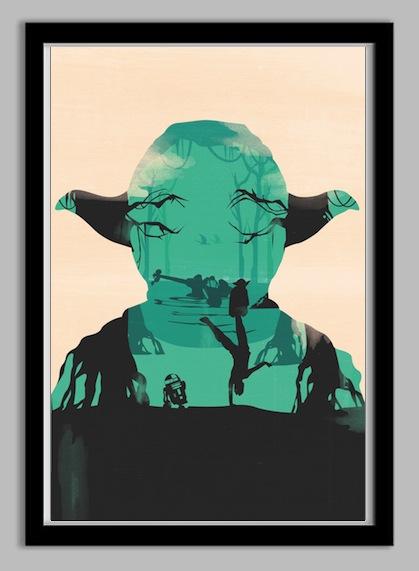 Star Wars poster by Frankie McKeever