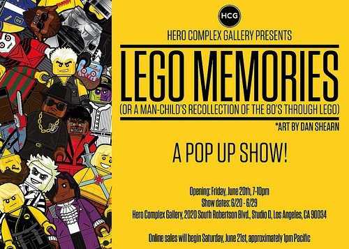 LEGO MEMORIES by Dan Shearn