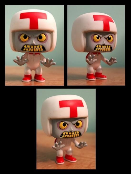Repainted Turbo Funko figure by Turbotastique