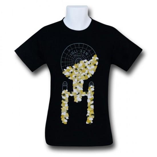 Star Trek Tribble Takeover Black T-Shirt