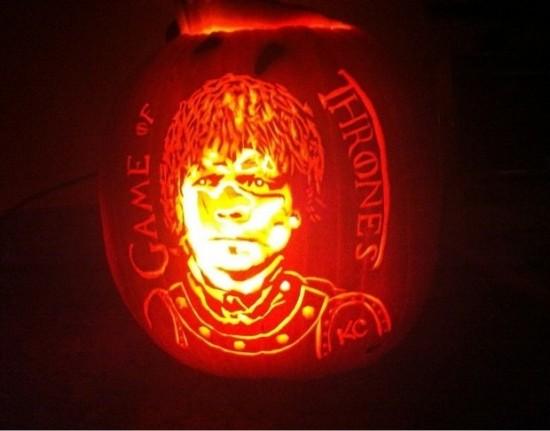 Game of Thrones pumpkin