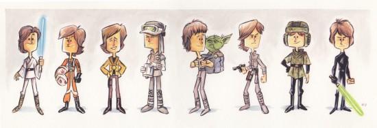 The Evolution of Luke Skywalker