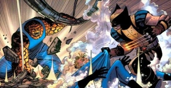 Fantastic Four vs. the X-Men