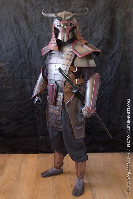 Boba Fett Samurai outfit