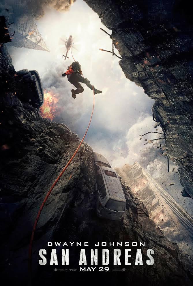 San Andreas Movie Poster