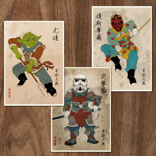 Star Wars Inspired Mythology Figures by JoE