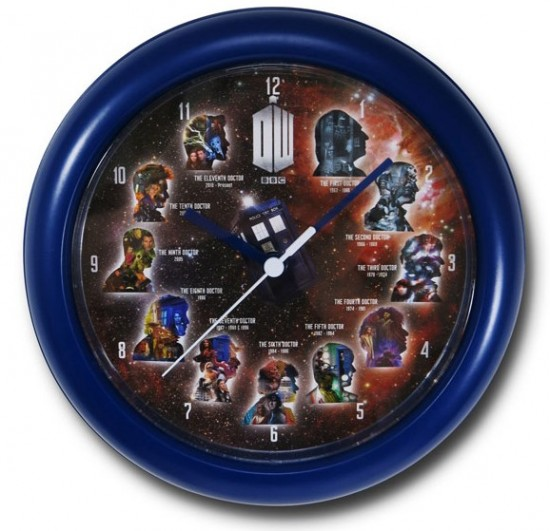Doctor Who 11 Doctors Wall Clock