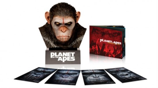 'Dawn of the Planet of the Apes' Limited Edition Blu-ray Set