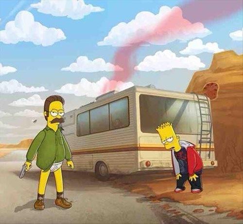 Breaking Bad The Simpsons