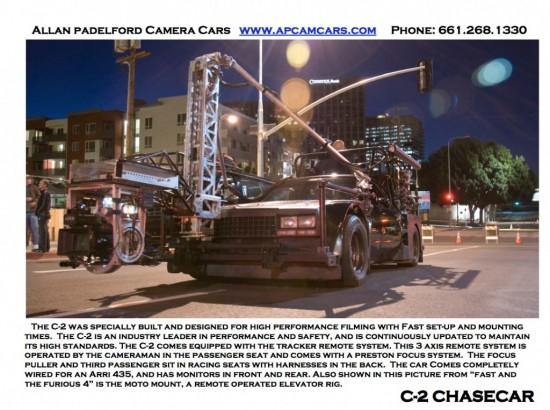 Fast & Furious 6 Camera Car