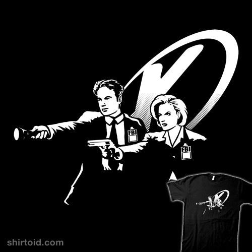 X Fiction t-shirt