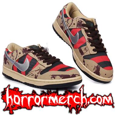 Nightmare on Elm Street Nike Sneakers