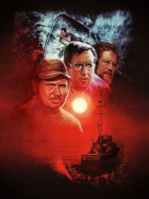 Paul Shipper's Jaws painting