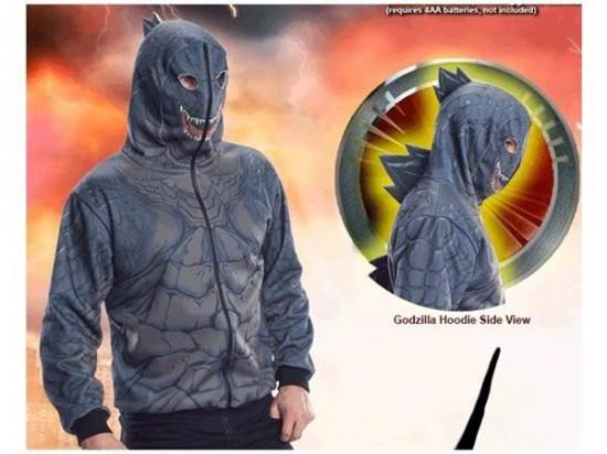 Godzilla Costume Hoodie