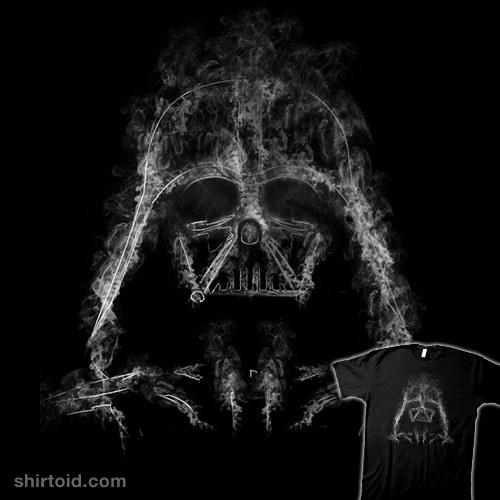 Darth Smoke t-shirt
