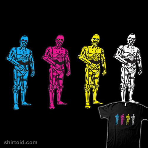 C3-MYK-O t-shirt