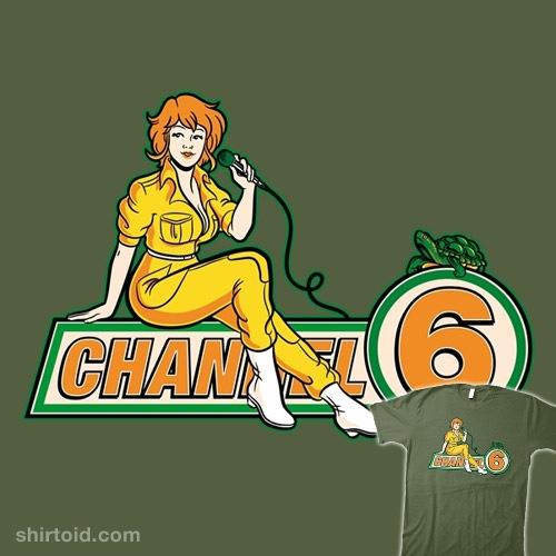 Channel 6 News t-shirt