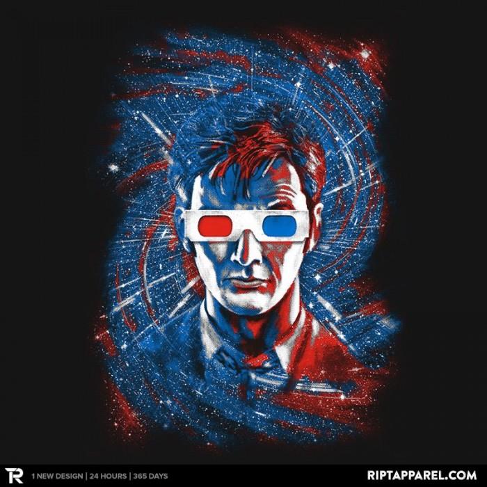 Doctor Ten 3D t-shirt