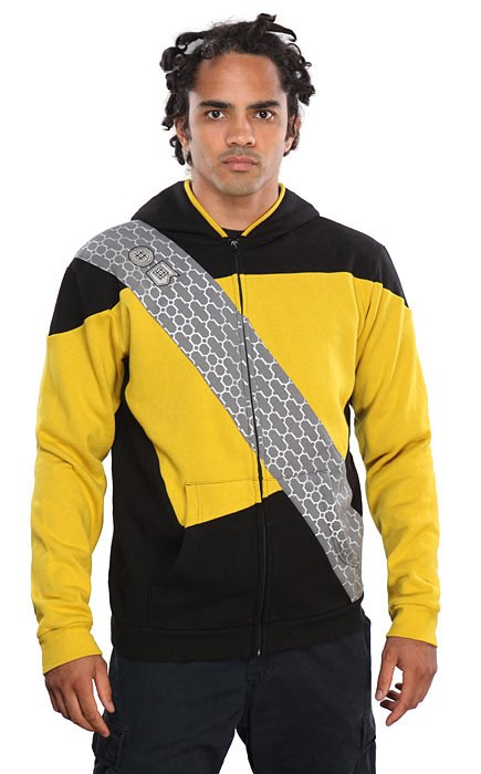 Star Trek: The Next Generation Worf Costume Hoodie