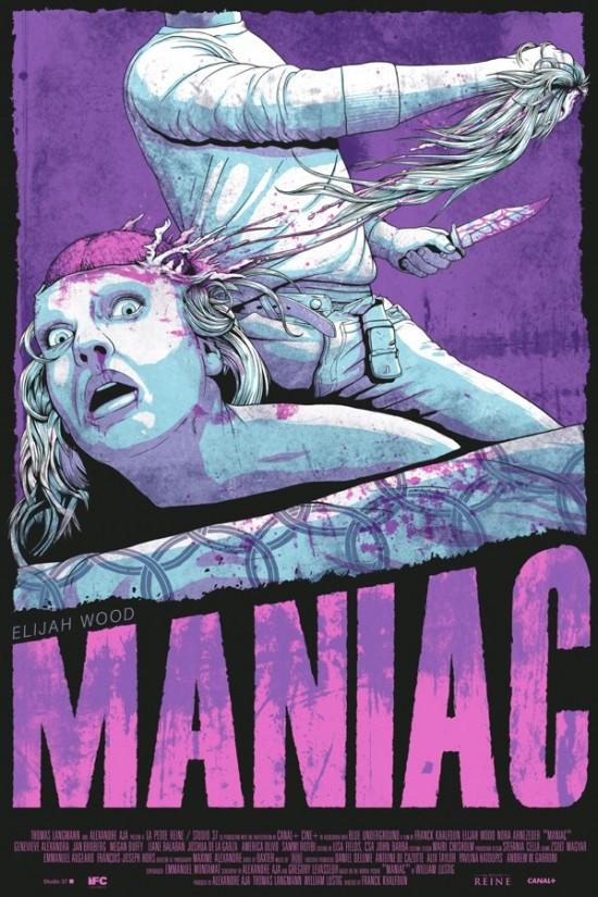 Jeff Proctor's MANIAC Poster