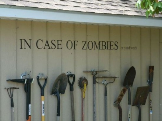 In Case of Zombies...
