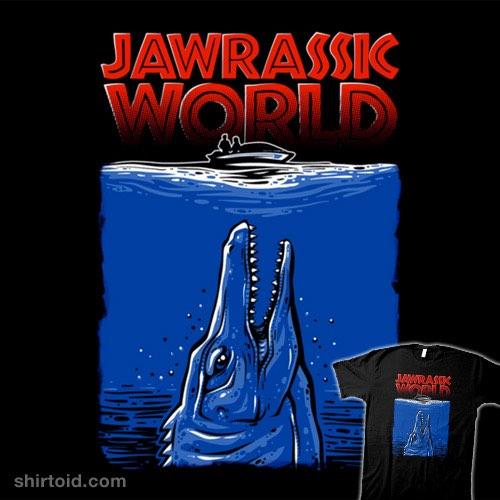 Jawrassic World t-shirt