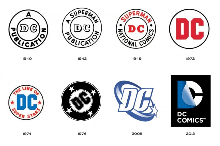 history of the dc comics logo