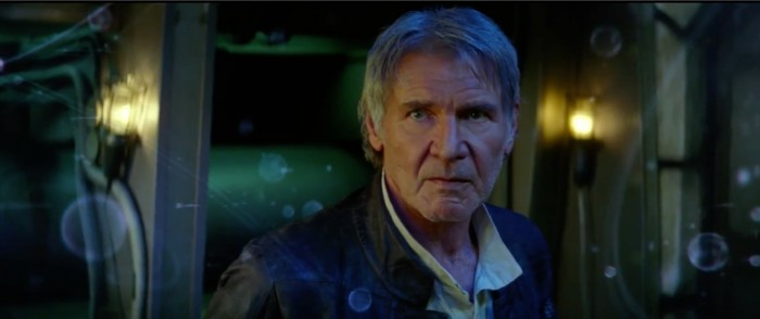 Han Solo Star Wars: the force awakens