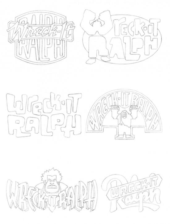 Wreck-It Ralph' Logo