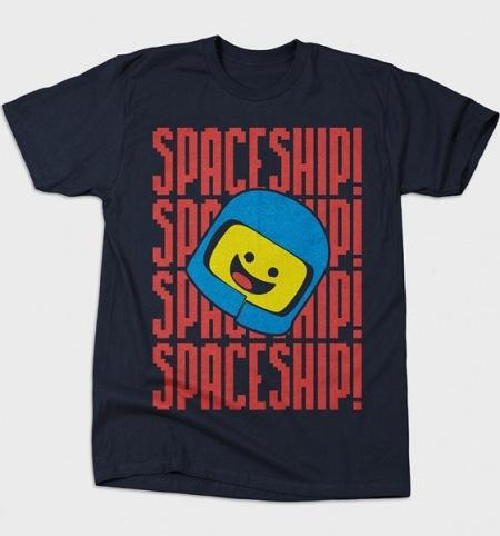 LEGO Movie Spaceship t-shirt