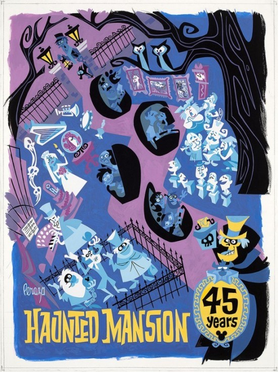 The Art of Haunted Mansion