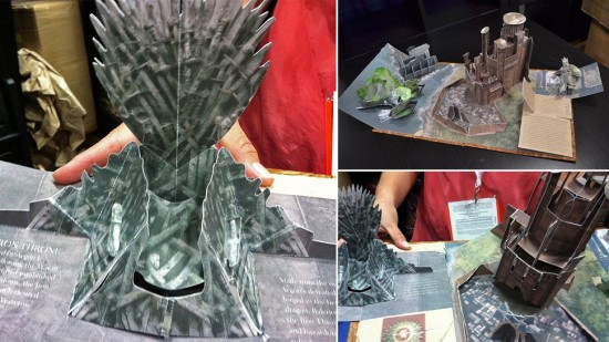 Game of Thrones Pop-Up Book