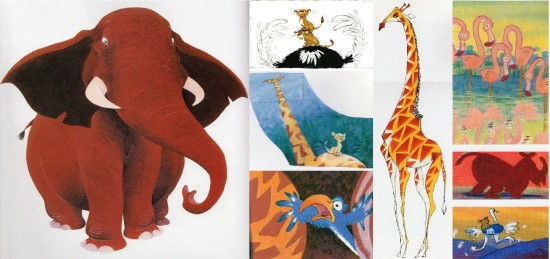 Chris Sanders Sketches: The Lion King