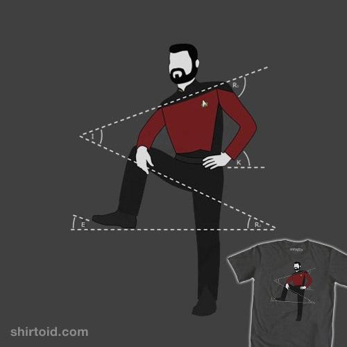 Riker Leans t-shirt