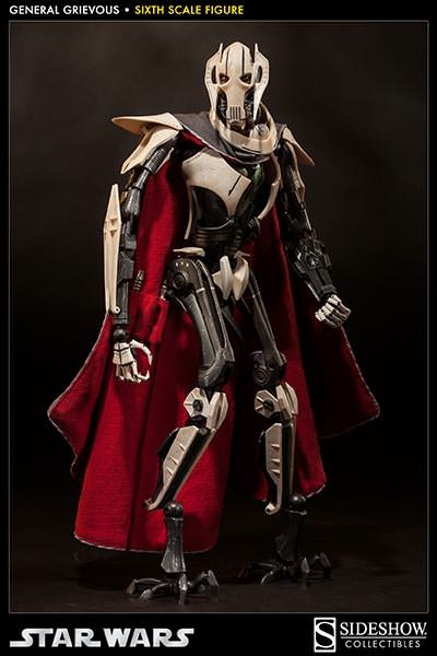 General Grievous Sixth Scale Figure by Sideshow Collectibles