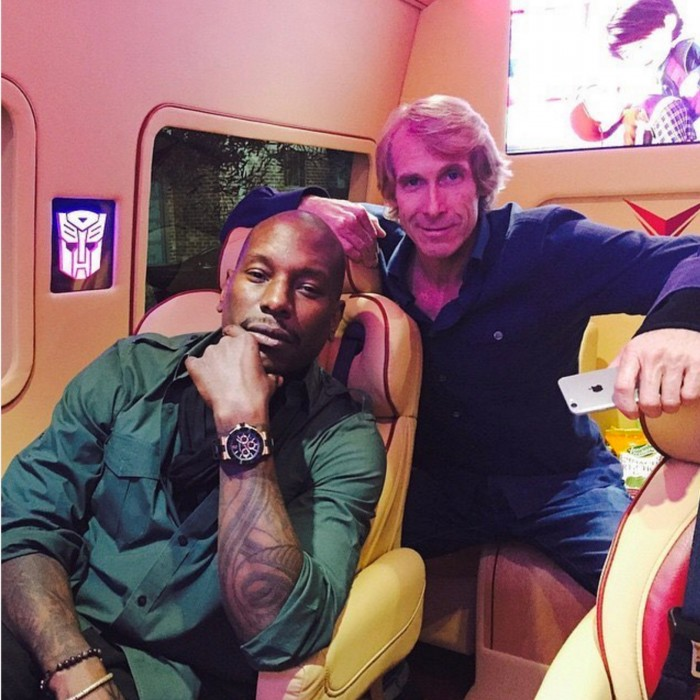 tyrese gibson transformers Michael bay