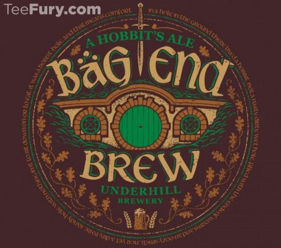 Bag End Brew t-shirt
