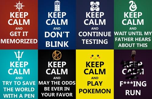 Keep Calm and Join a Fandom