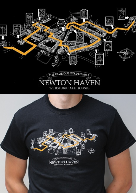 The World's End T-shirts by Last Exit to Nowhere