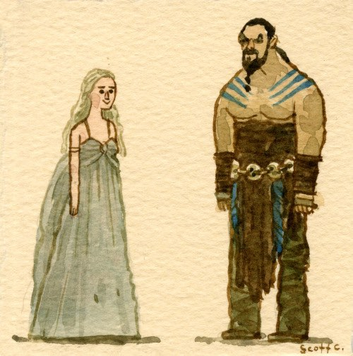 Scott C continues his Great Showdown tribute to Game of Thrones.