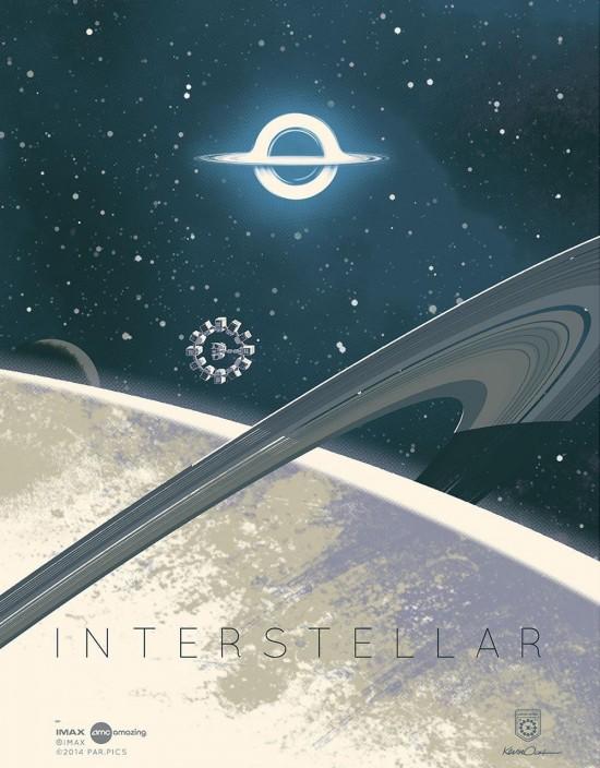 KEvin Dart's Interstellar poster 3