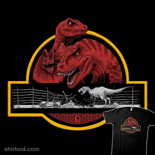Paleontological Adventure t-shirt