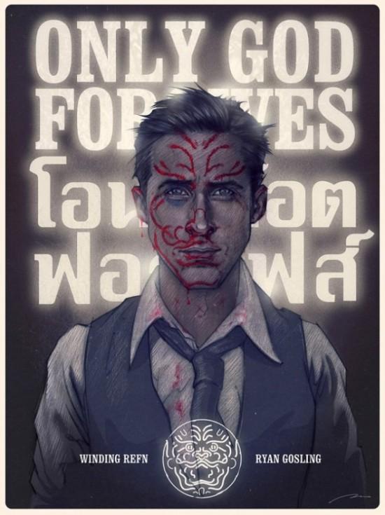 Bruno Vergauwen's Only God Forgives poster