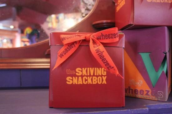 Skiving Snackbox at diagon alley