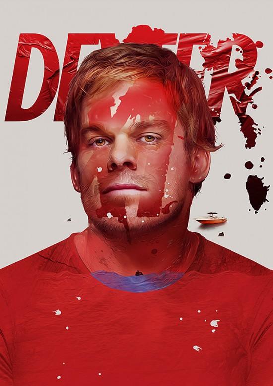 Dexter Art Print by Adam Spizak