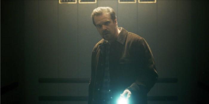 Hopper in Stranger Things